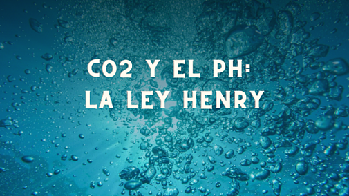 CO2 y el pH: La ley Henry