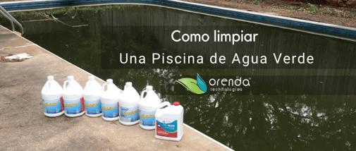 Como Limpiar una Piscina de Agua Verde