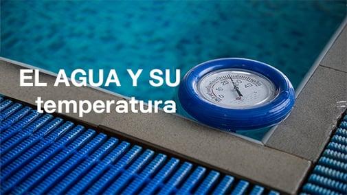 Por qué es importante la temperatura de la piscina?