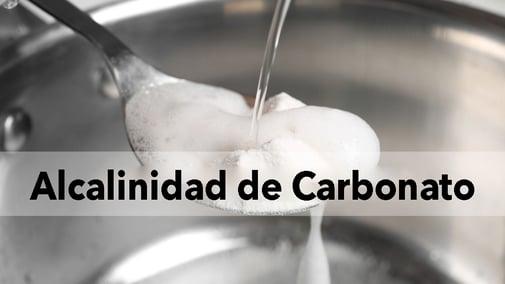 Alcalinidad de Carbonato y Alcalinidad Corregida