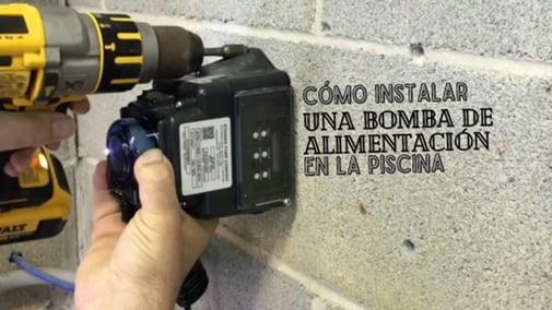 Cómo Instalar una Bomba de Alimentación en la Piscina