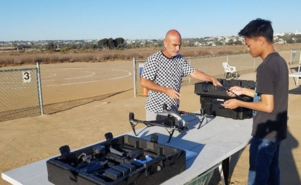 Sweetwater Union Adult Education Drone Program Flies in the Face of the Pandemic