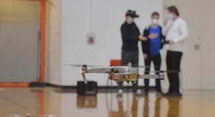 Sky's the limit!Drone program at Harbor Springs High School really takes off
