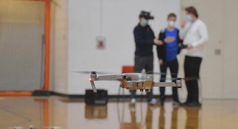 Sky's the limit! Drone program at Harbor Springs High School really takes off