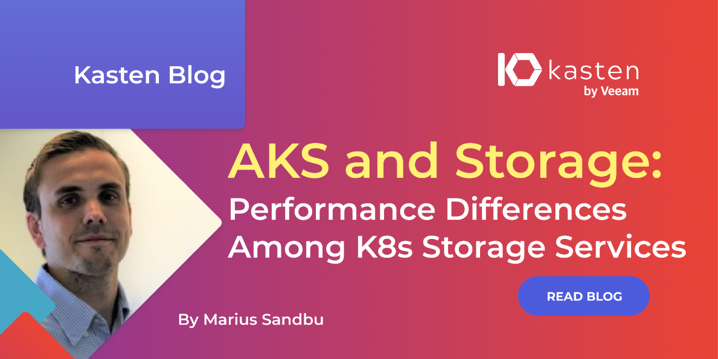 AKS and Storage: Performance Differences Among K8s Storage Services