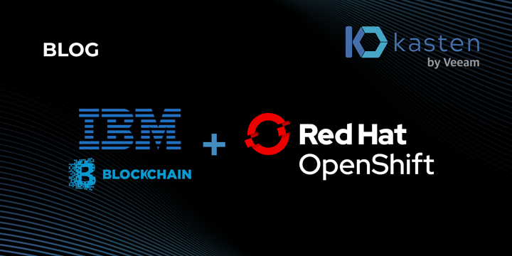 Perform a Complex Restore of a Blockchain Application in Kubernetes with Kasten K10