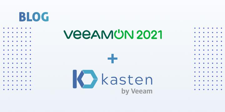 Kubernetes Showcased at VeeamON 2021