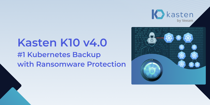 Kubernetes Ransomware Protection with Kasten K10 v4.0