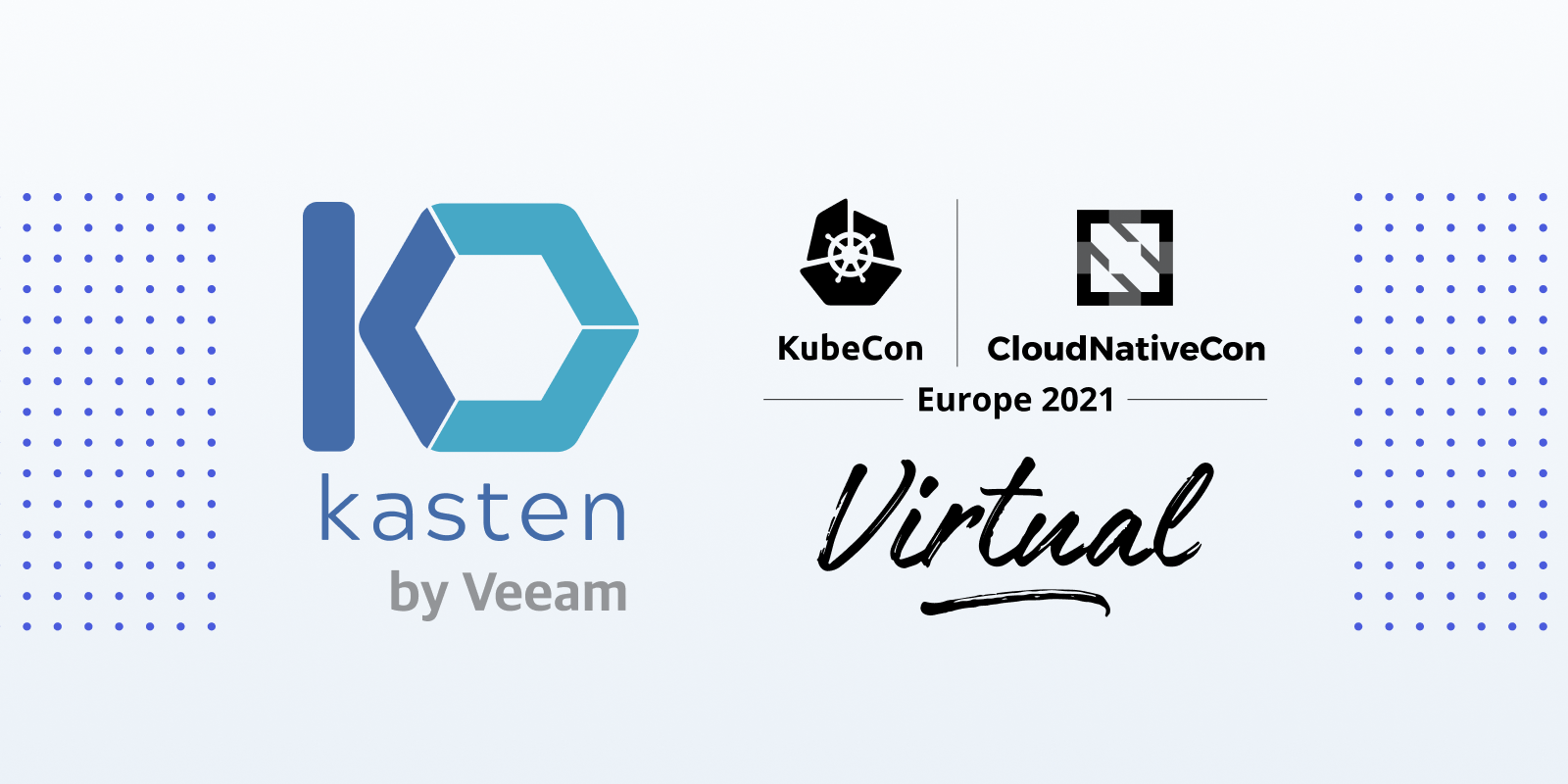 KubeCon is Here, and Kasten is Geared Up and Ready to Talk Kubernetes Backup & Recovery