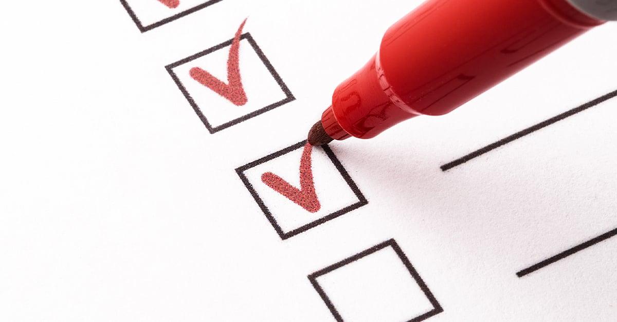 COVID checklist for CFOs