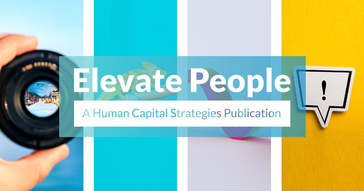 Elevate People A Human Capital Strategies Publication
