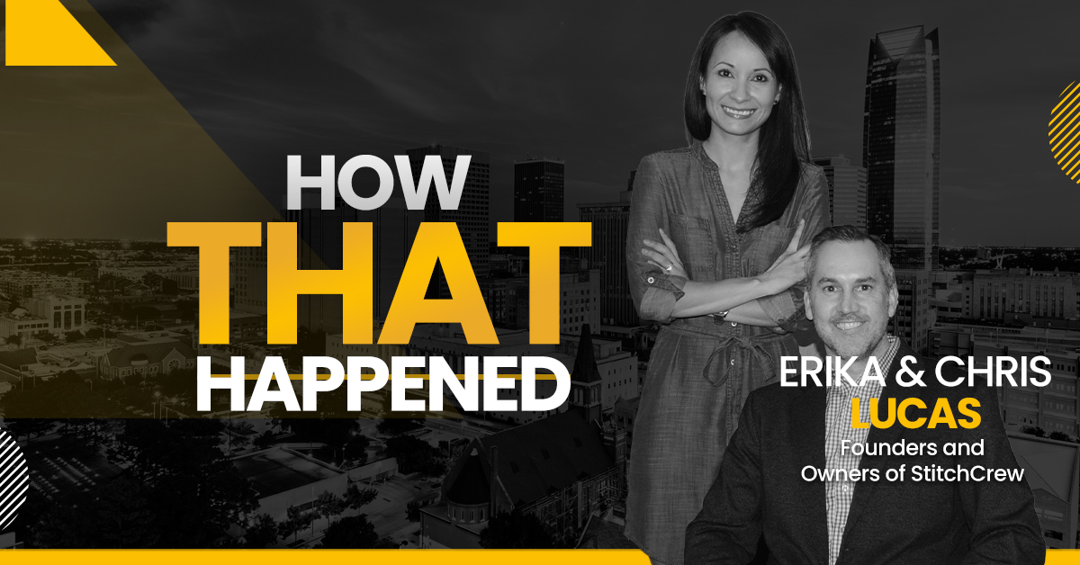 """Erika and Chris Lucas StitchCrew - """"How That Happened"""""""
