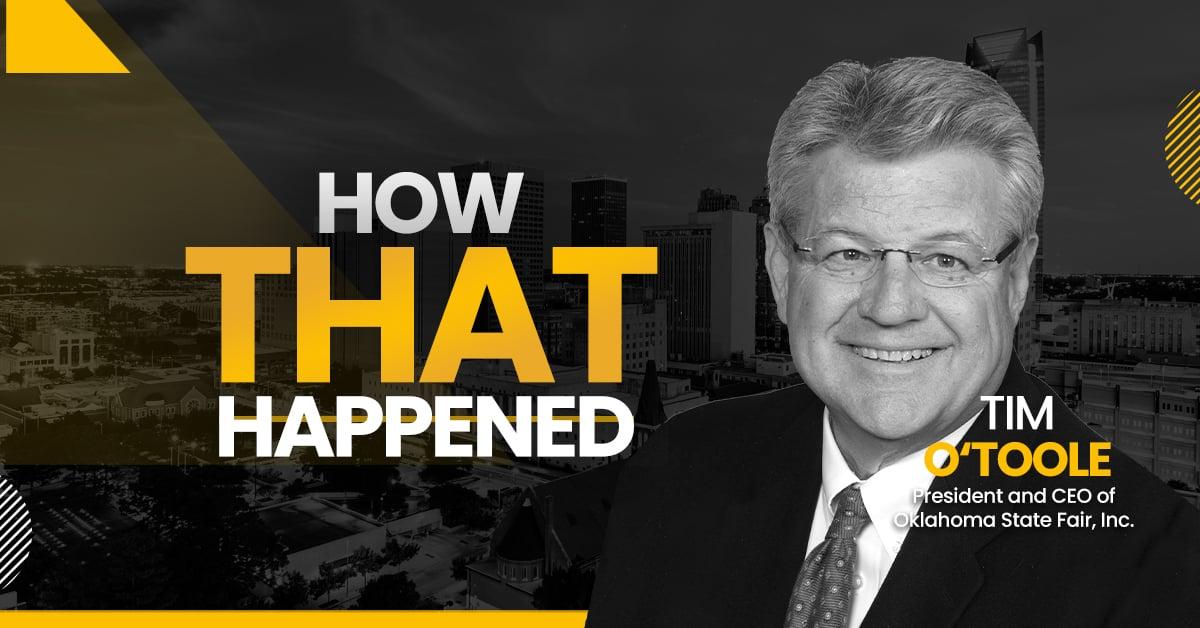 "Tim O'Toole Oklahoma State Fair -""How That Happened"""