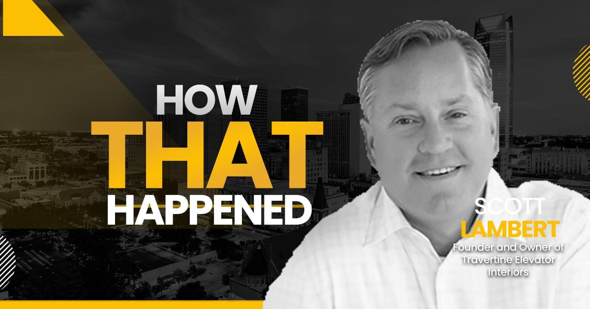 """Scott Lambert Travertine Elevator Interiors - """"How That Happened"""""""