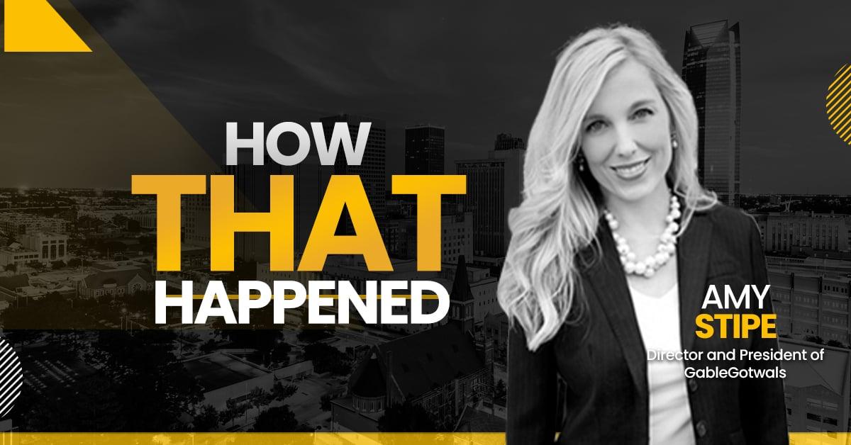 "Amy Stipe GableGotwals - ""How That Happened"""