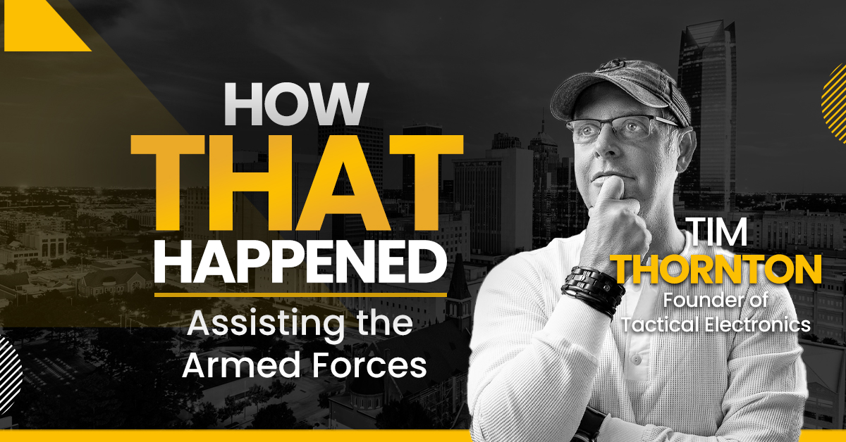 """Tim Thornton Tactical Electronics - """"How That Happened"""""""