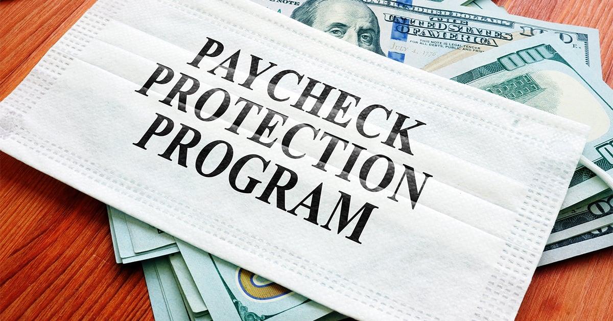 Paycheck protection program mask
