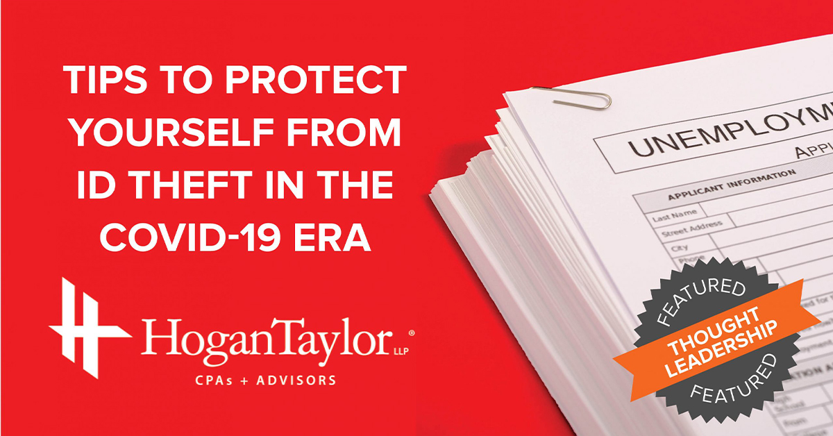 How to Protect Yourself from Theft in the COVID-19 Era