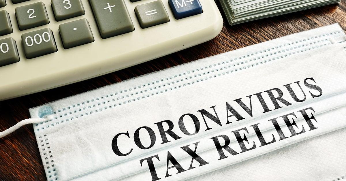 Coronavirus tax relief with calculator