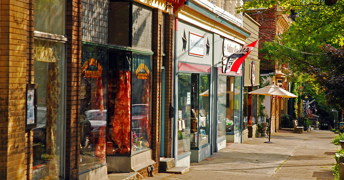 Main street program for nonprofits