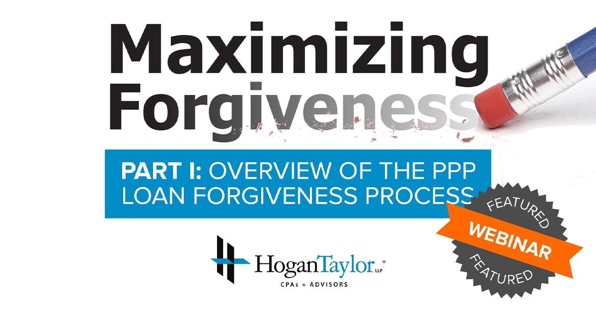 Maximizing Forgiveness Part I