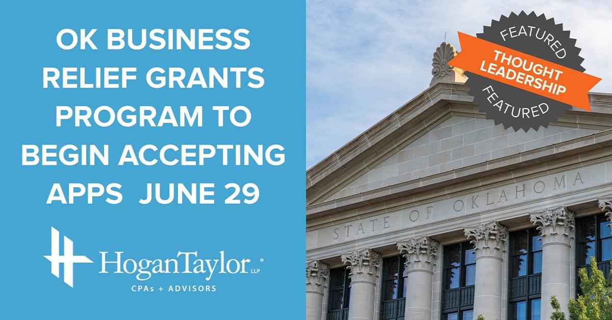 Oklahoma Business Relief Grants Program