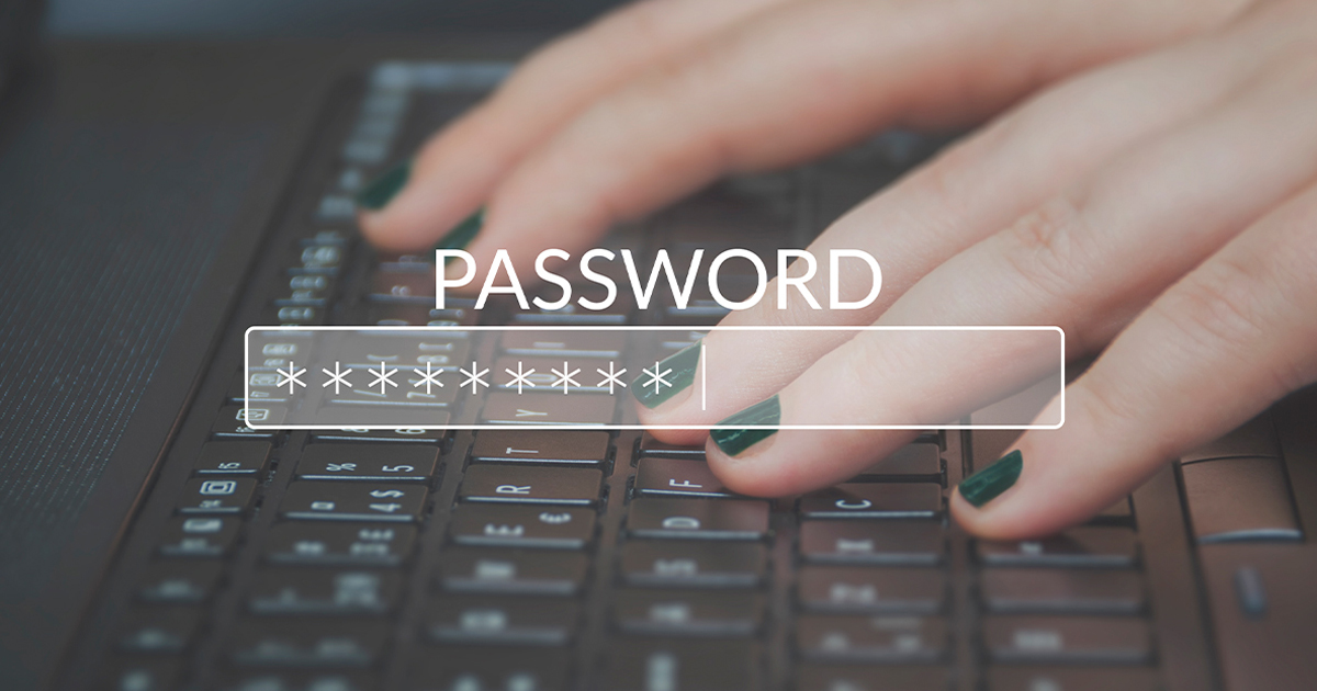 """Image with the word """"Password"""" across a keyboard"""