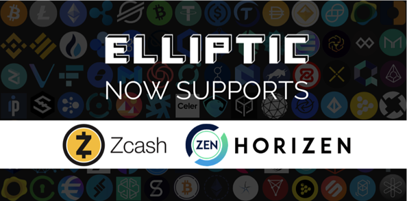 Elliptic now supports Zcash and Zen