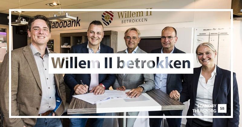 Willem II Betrokken en Standby Thuiszorg