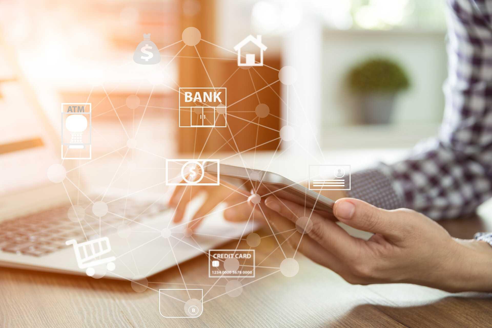 Online banking customer