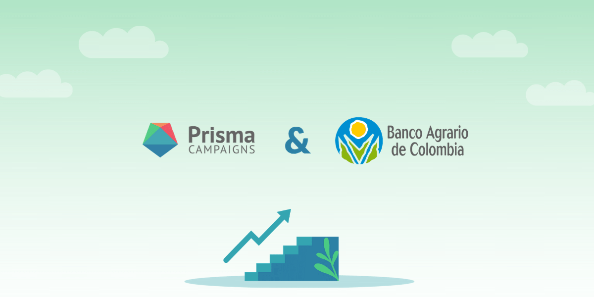 Banco Agrario de Colombia opens 230,000 new accounts with Prisma Campaigns