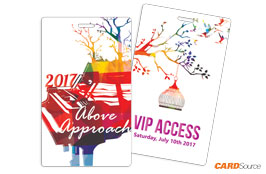 Event Badge TAG3501 Above Approach by CARDSource