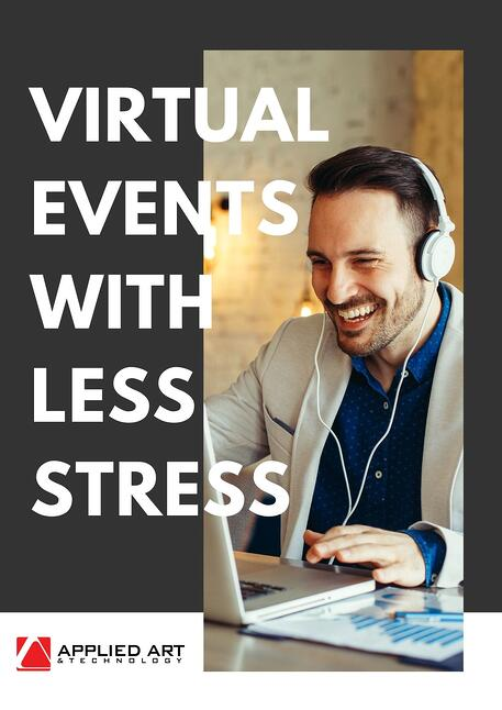 virtual events with less stress