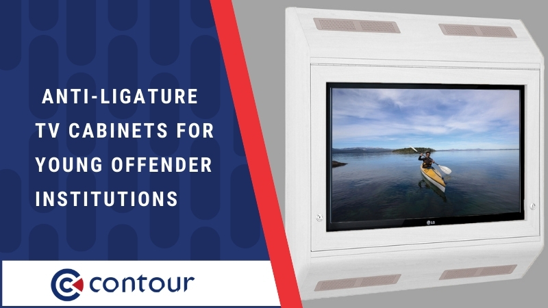 Anti-Ligature TV Cabinets For Young Offender Institutions