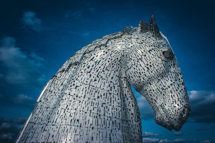 Scottish myth of the water horse