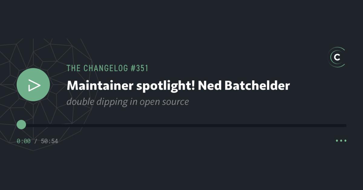 Maintainer spotlight! Ned Batchelder