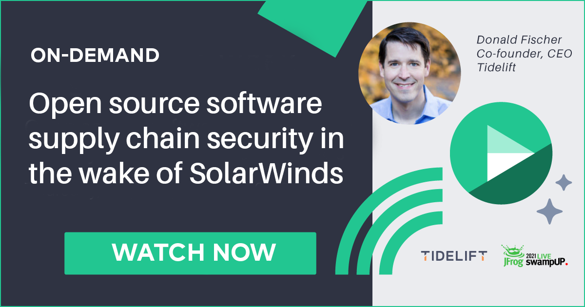 Open source software supply chain management and security in the wake of SolarWinds
