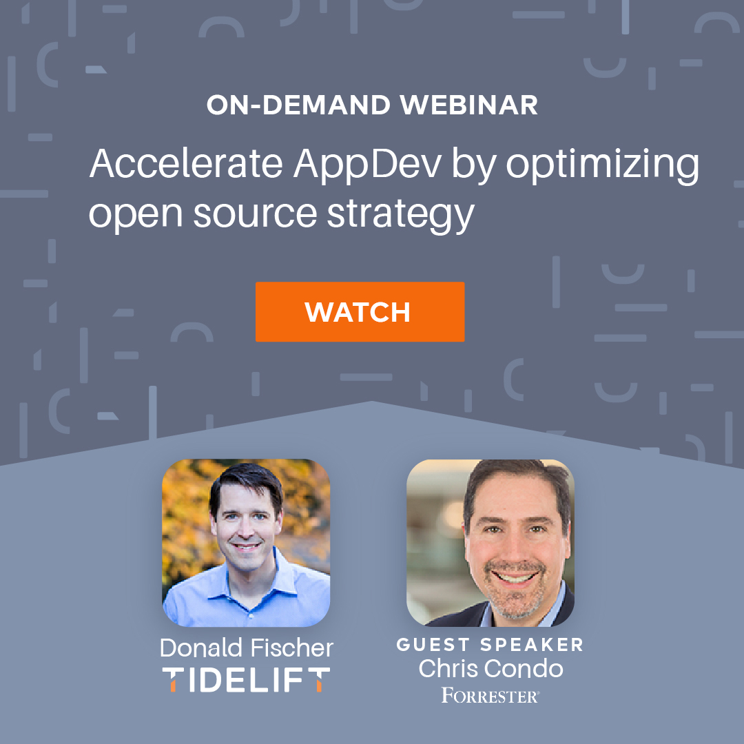 Accelerate app development by optimizing your organization's open source strategy
