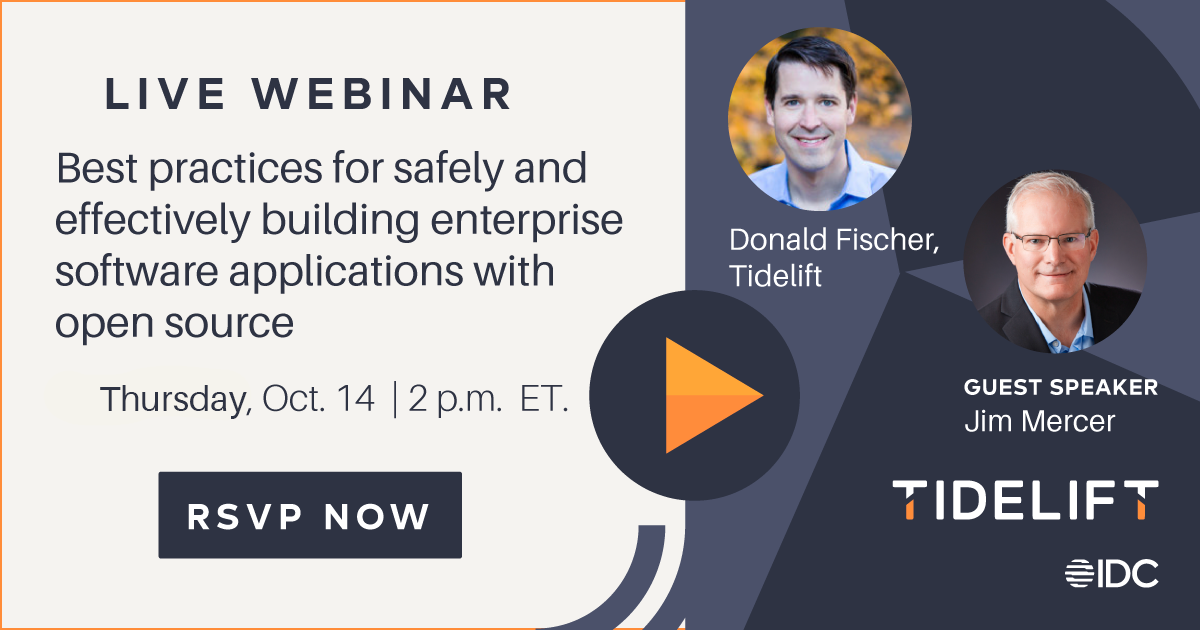 Best practices for safely and effectively building enterprise software applications with open source