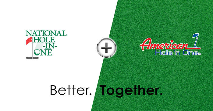 We are happy to announce the merging of our two companies that will now operate as American Hole 'n One.