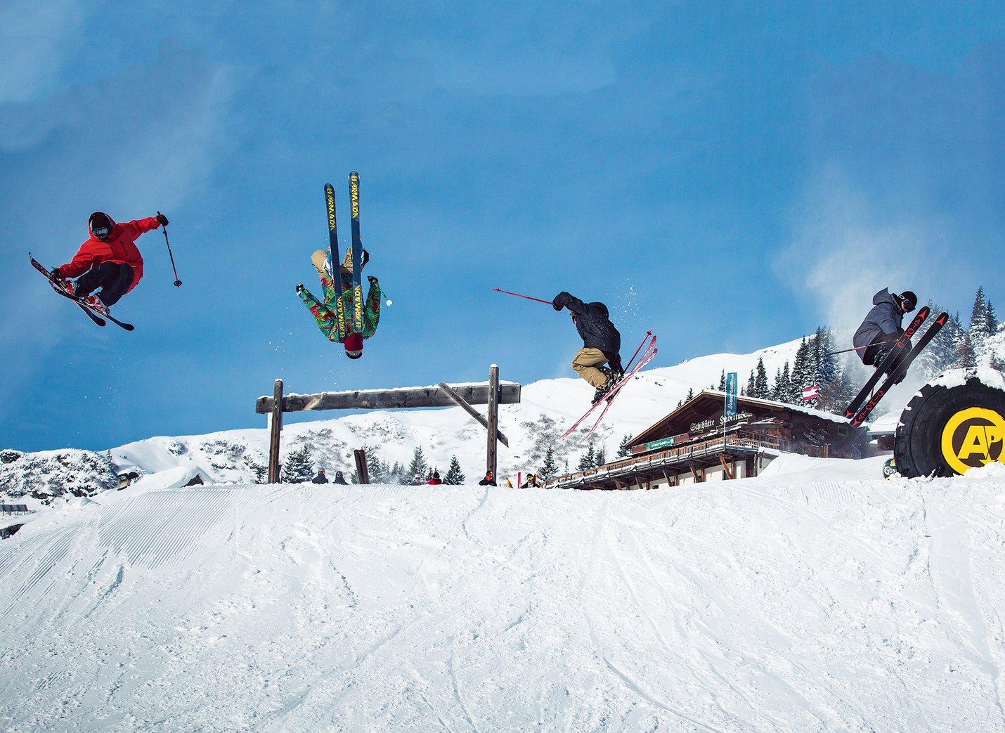 Wintersport - und Spaß