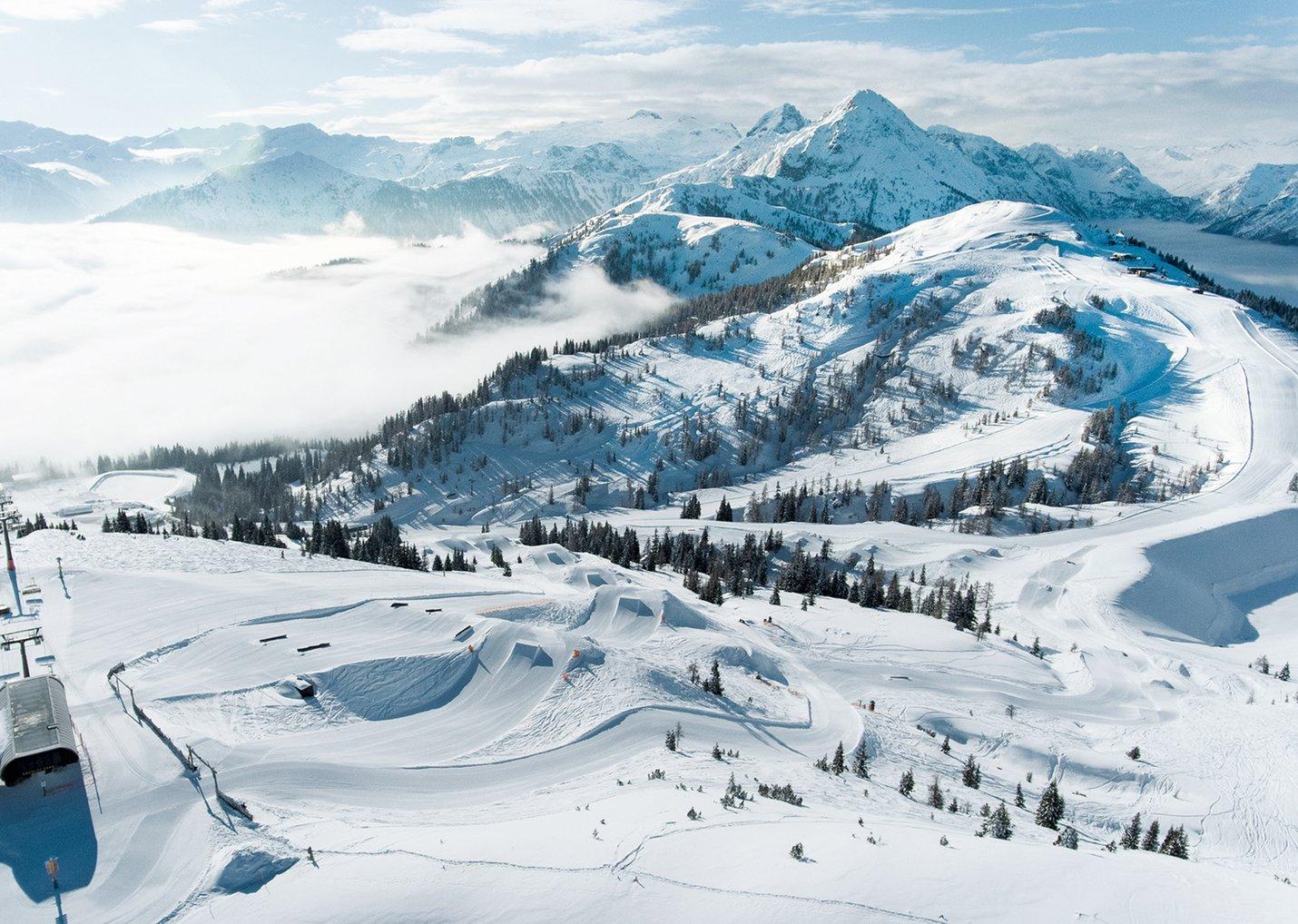 Skifahren in Flachau Winterurlaub in der Ski amadé im Salzburger Land