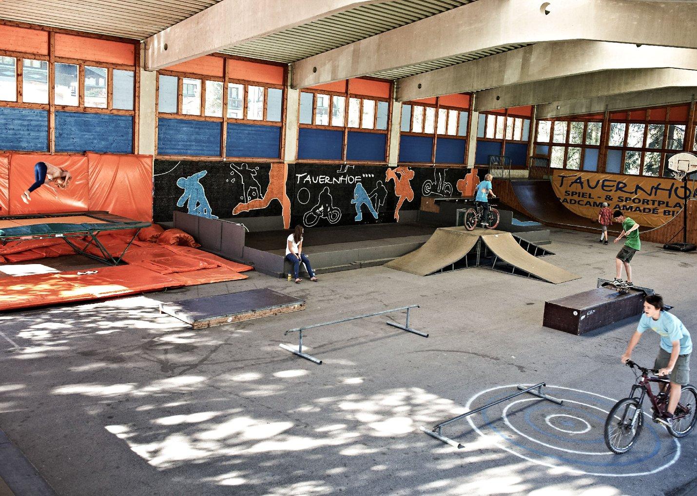 Funpark Skatepark Flachau Tauernhof hotel flachau sporthotel österreich