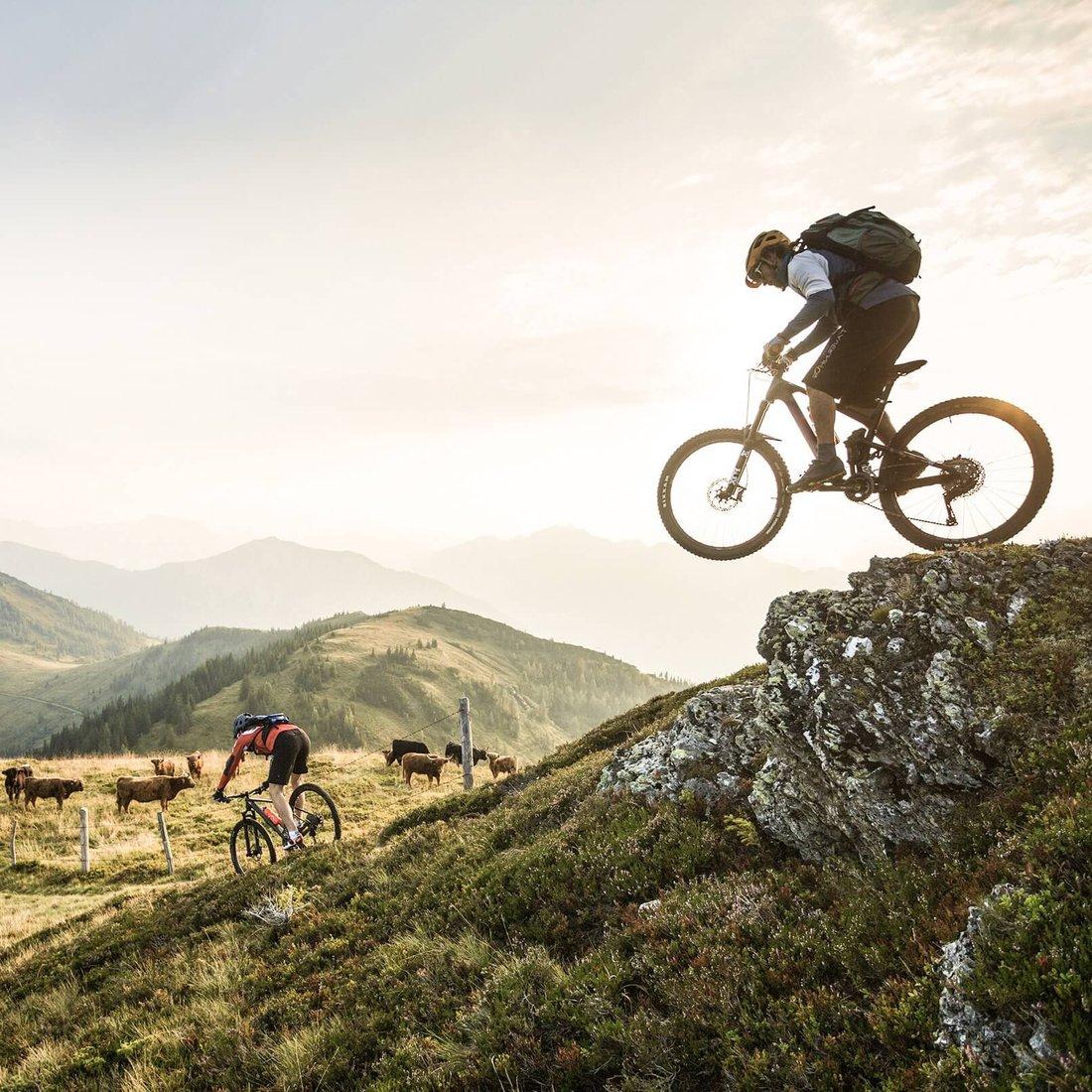Tauernhof-Mountainbiketour_Frauenalmrunde