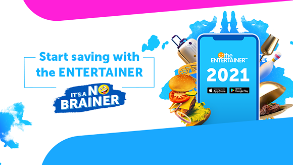 The ENTERTAINER 2021 is here, saving you more money than ever before!