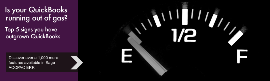 Is your QuickBooks running out of gas?