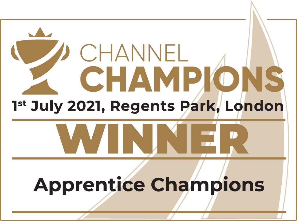 Channel Team win Apprentice Champions Award