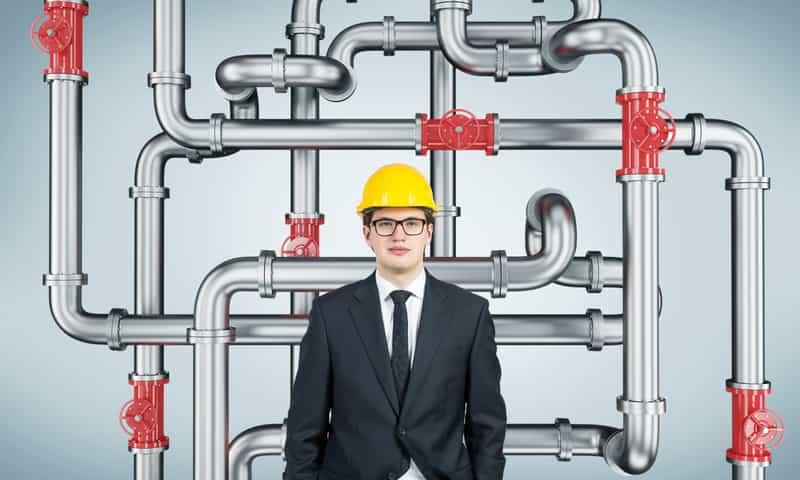 Come limitare la caduta di pressione dell'impianto di aria compressa