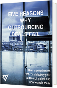 5 Reasons why outsourcing deals fail eBook