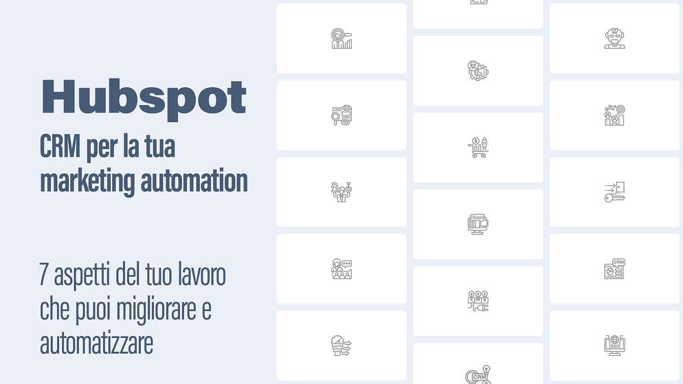 Hubspot: cos'è e perché è il miglior CRM per la tua marketing automation
